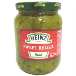 Heinz Sweet Relish | Cucumber Relish | Hamburger | Buy Online | Authentic American Food | UK | Europe